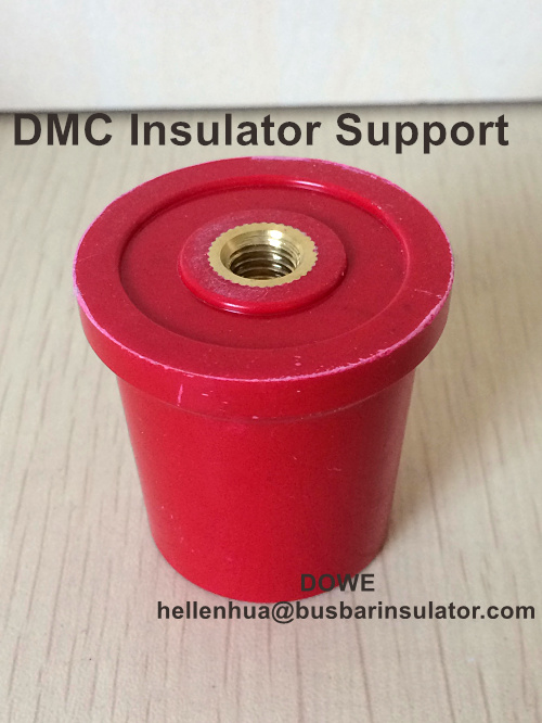 DMC electrical cone insulator C40*40 busbar support steel insert ROSH V0