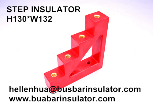 ladder-shapped insulation support CJ40 electronic support insulator m8 bus bar