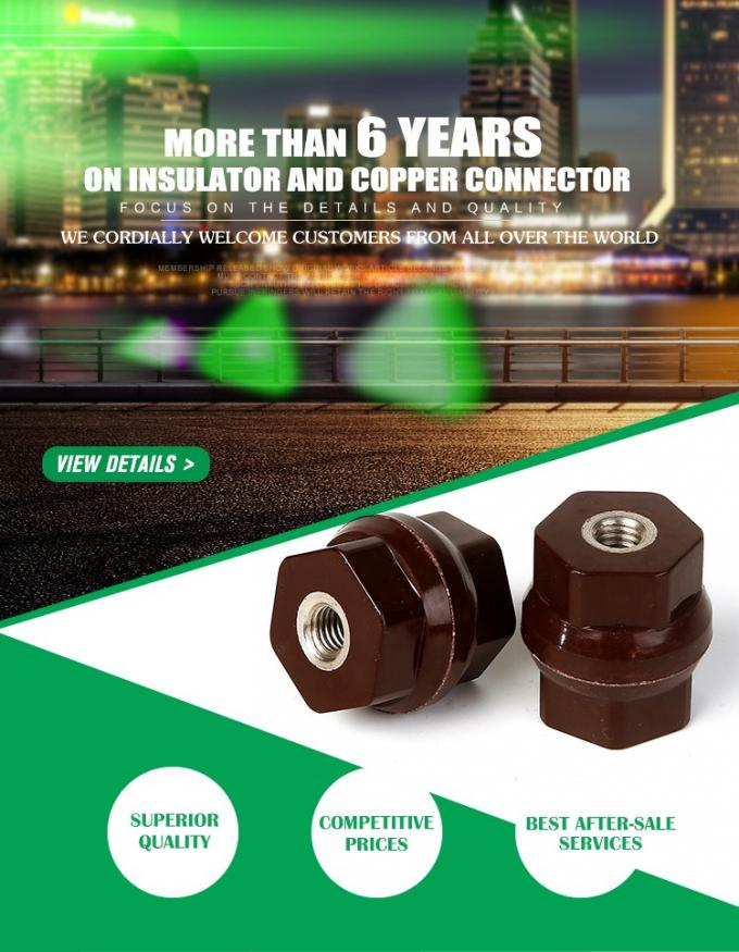 Best Sales D30x30 hexagonal 660V DMC/BMC electrical insulator