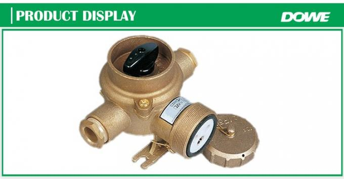 Promotional watertight off-on CZKH202 switch marine brass socket