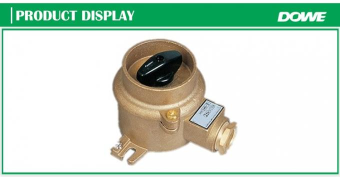 Promotional waterproof HH101 marine brass material switch for 24V-440V
