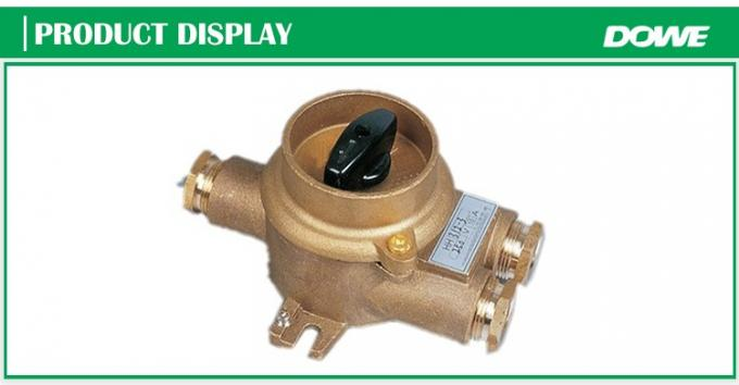 China supplier explosion-proof HH302 marine brass switch