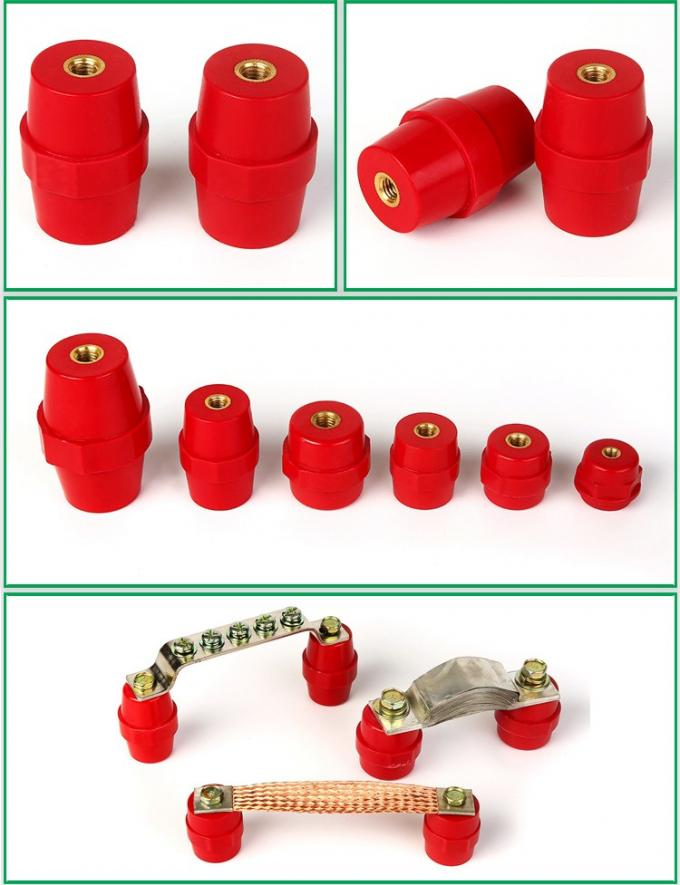 low voltage bus bar support insulators