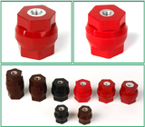 Manufacturers 40x40 low voltage soild cylinder type electric insulator support