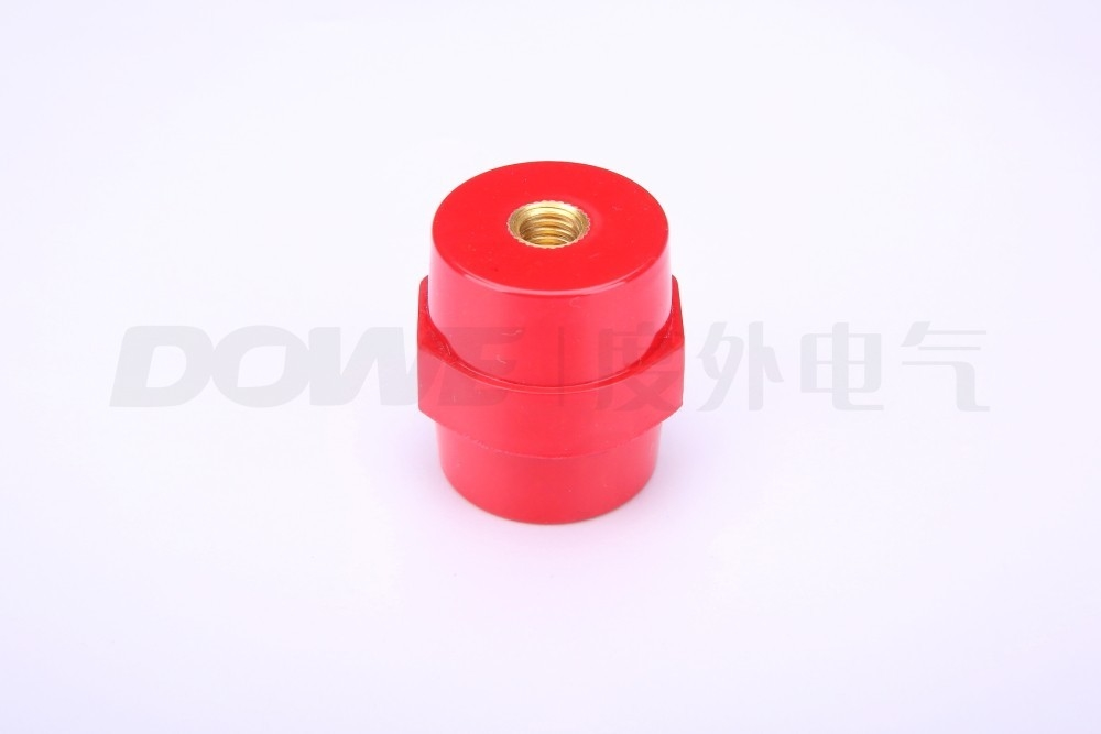 BMC BUSBAR INSULATOR RED SUPPORT INSULATOR PIN-BUSBAR INSULATOR