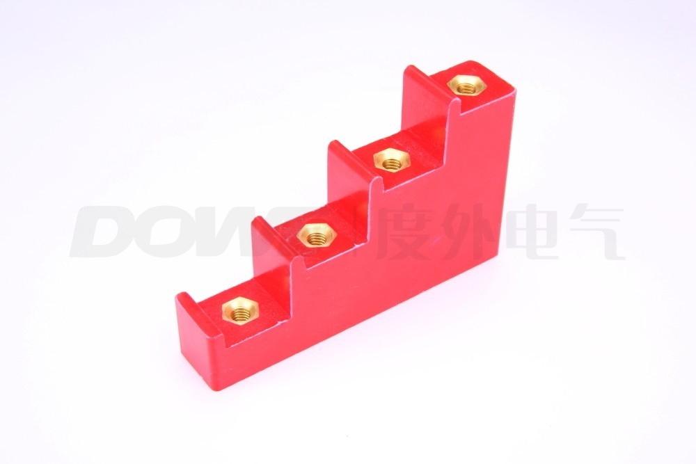 CT2-20ladder-shapped insulation support DMC support insulator m8 bus bar