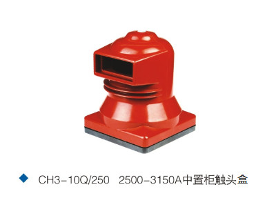CH3-10Q/250 2500-3150A epoxy resin contact box for mid-voltage Switchgear