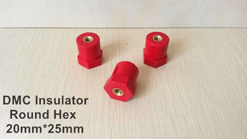 JYZ-20 electrical insulator 20mmx25mm M8 round hex insulator support