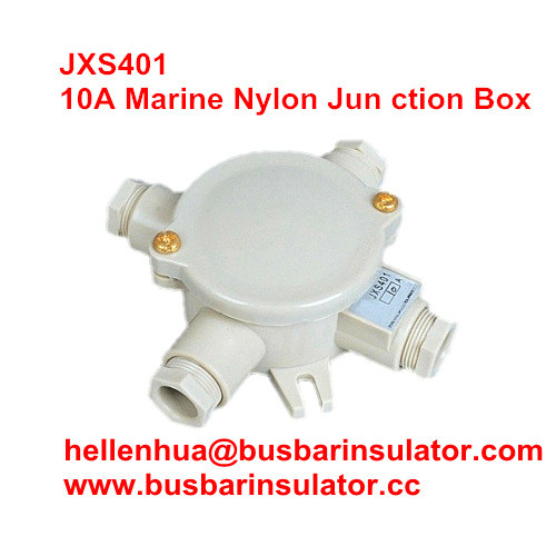 10A marine nylon junction box JXS401 1153/FS water-tight terminal box outlet