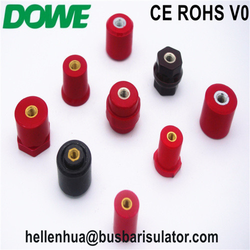 UL ROHS M8 octagon insulator used in railway application
