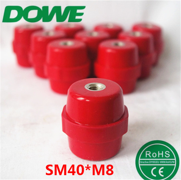 40*30 M8 low voltage insulator busbar insulator busbar connector