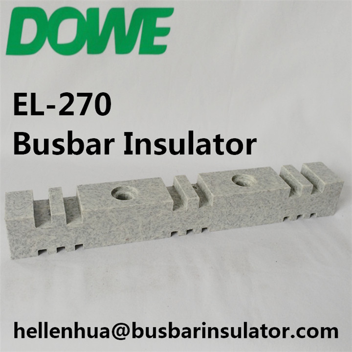 2016 wholesale EL-270 bus bar support bar holder isolator busbar holder