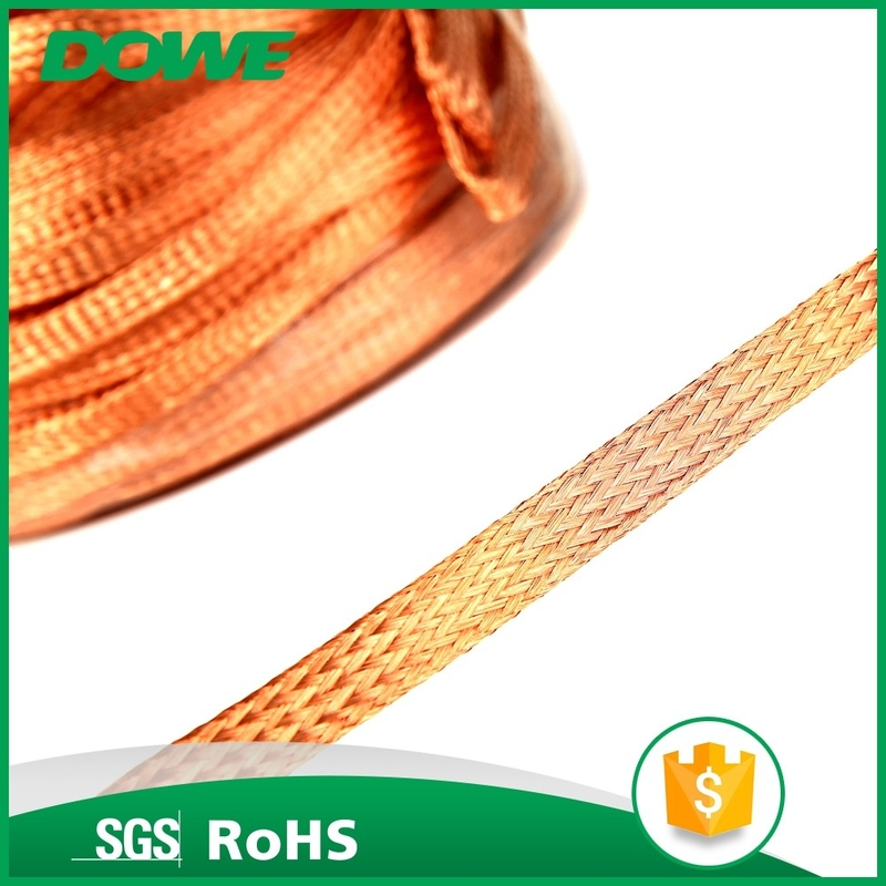 China manufacturer electric house T2 bare copper braided wire