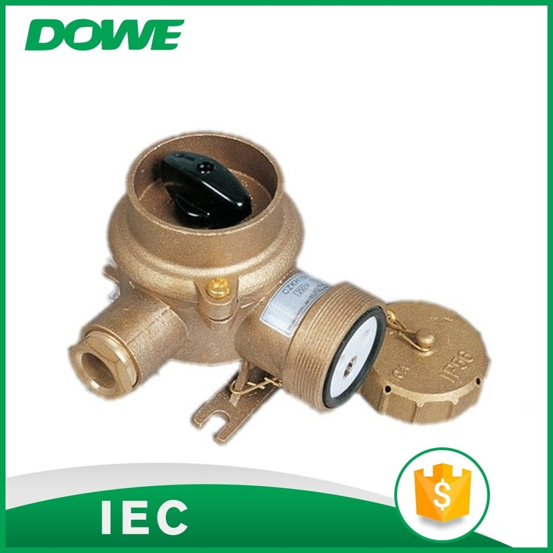 New design off-on CZKH101 marine brass socket with switch