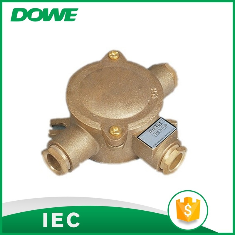 Brand brass material JXH301 marine junction box for electrical connection