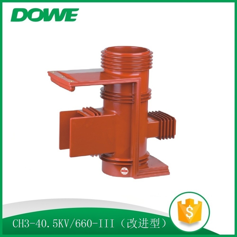 High quality 35kv available epoxy resin insulation contact box