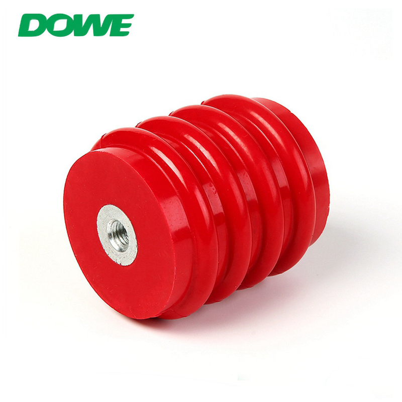 China Supplier red round epoxy resin high voltage bus bar insulator