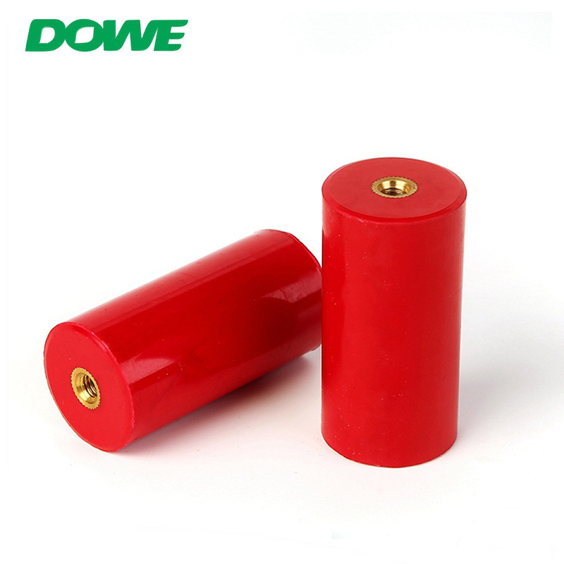 660V cylindrical mns3060 busbar support dmc/bmc resin busbar insulators
