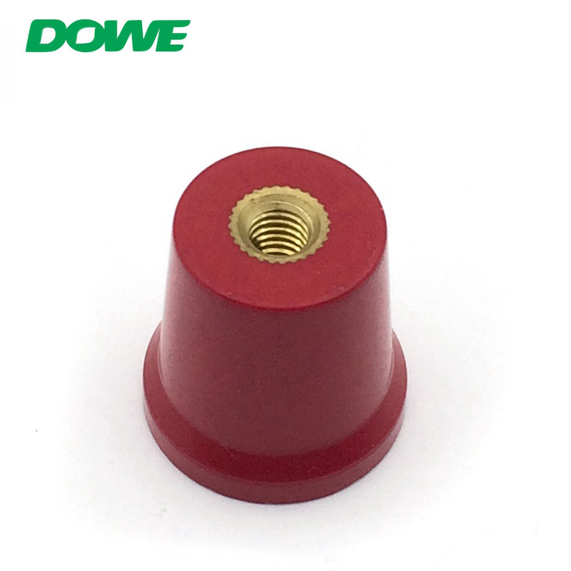 Low voltage application conical C25 DMC red busbar connector