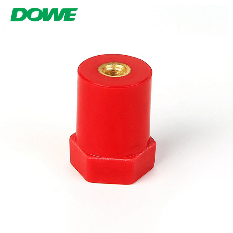 Round hexagonal height from 20mm to 80mm low voltage insulator busbar