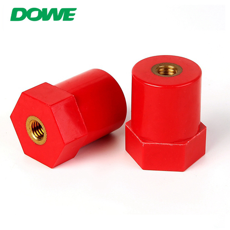 Delivery At Sight MOQ 1PCS ROHS Glassfibre Electrical standoff busbar support insulators connect