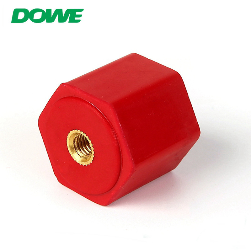 New design DMC/SMC spool ceramic busbar insulators clamp insulator