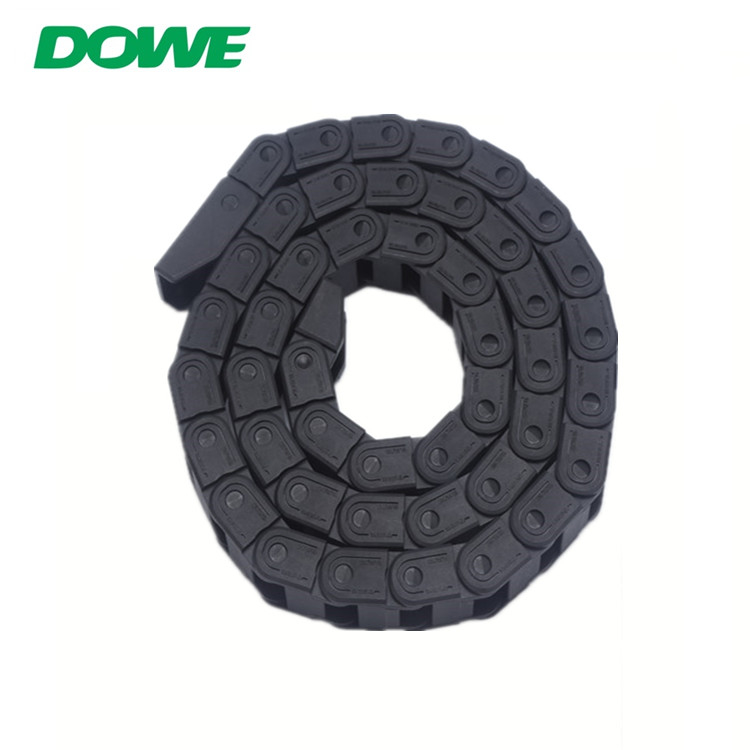 China Factory Supply10 Enclosed  Bridge Type  Plastic Drag Cable Track Towing Chain