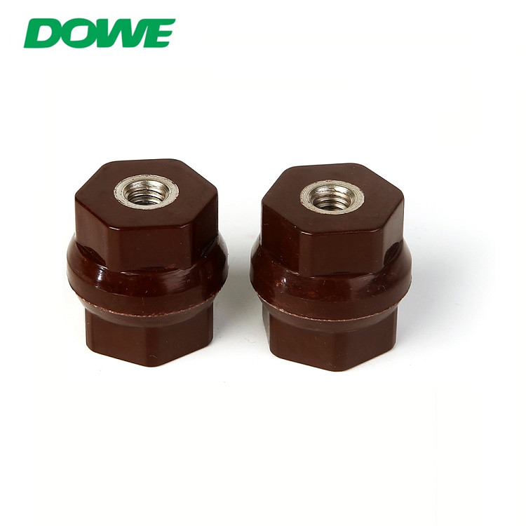 YUEQING DOWE China Factory D25X25 Glassfibre 660V-7200V Low Voltage Spacing Busbar Insulator