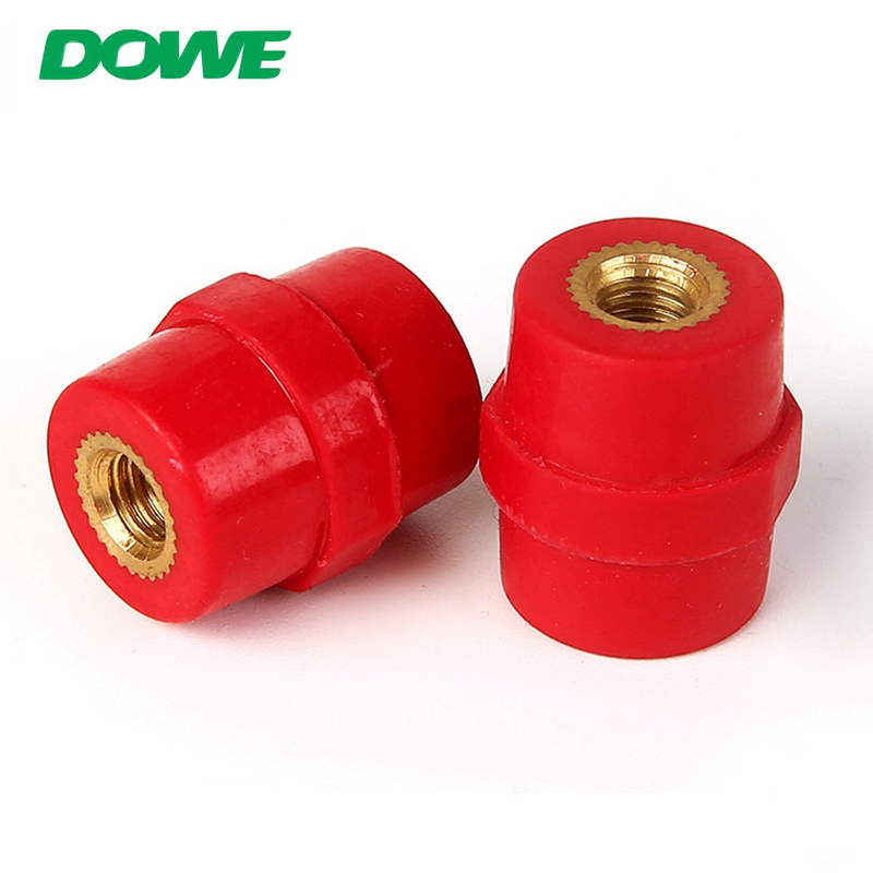 YUEQING DOWE SM20 Red Colour For Low Voltage Switchgear Pin Bus Bar Insulator Connector