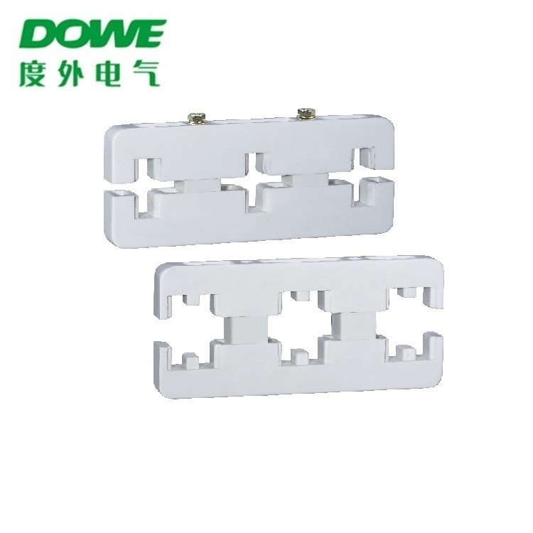 Yueqing DOWE  SMC Insulators D0-270L 8x80 Three Phase Bus Bar Frame Busbar Insulator Support