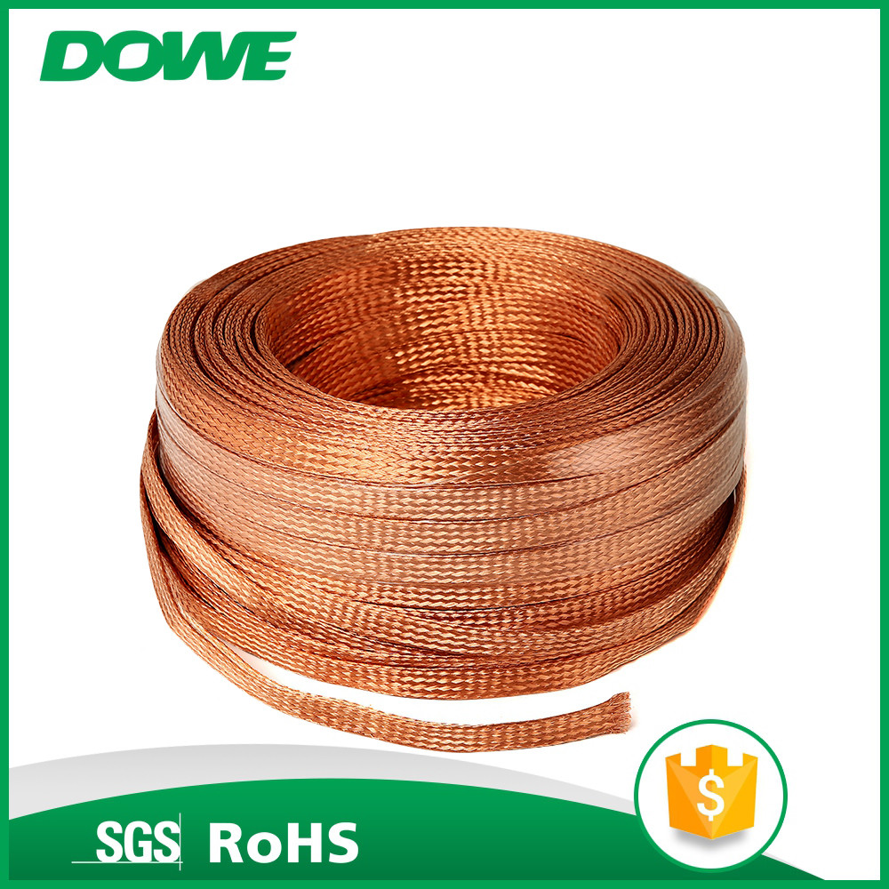 China Manufacturer Electric House T2 Bare Copper Braided Wire Electrical Solid And
