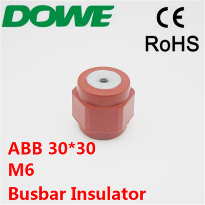China AB* H30xM6 low voltage busbar insulator standoff insulator distributor