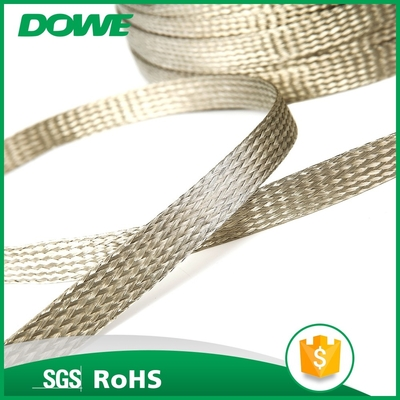 Seal airtight flexible white T2 braided copper wire for electrical application