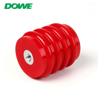China China Supplier red round epoxy resin high voltage bus bar insulator distributor