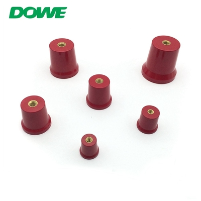 China YUEQING DOWE C25 Busbar Insulator Support M6 PF Material Copper Insert New Energy Terminals distributor