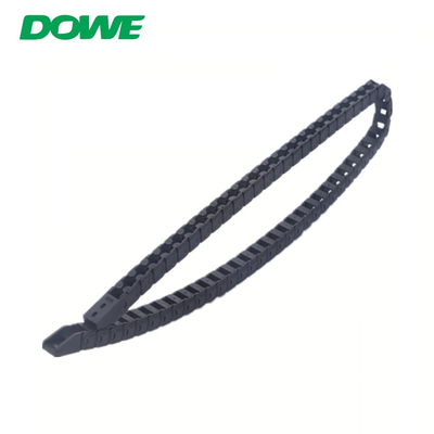China China Factory Supply 6 Wild Card Type Plastic Towing Drag Cable Chain Machine Tool Accessories SGS distributor